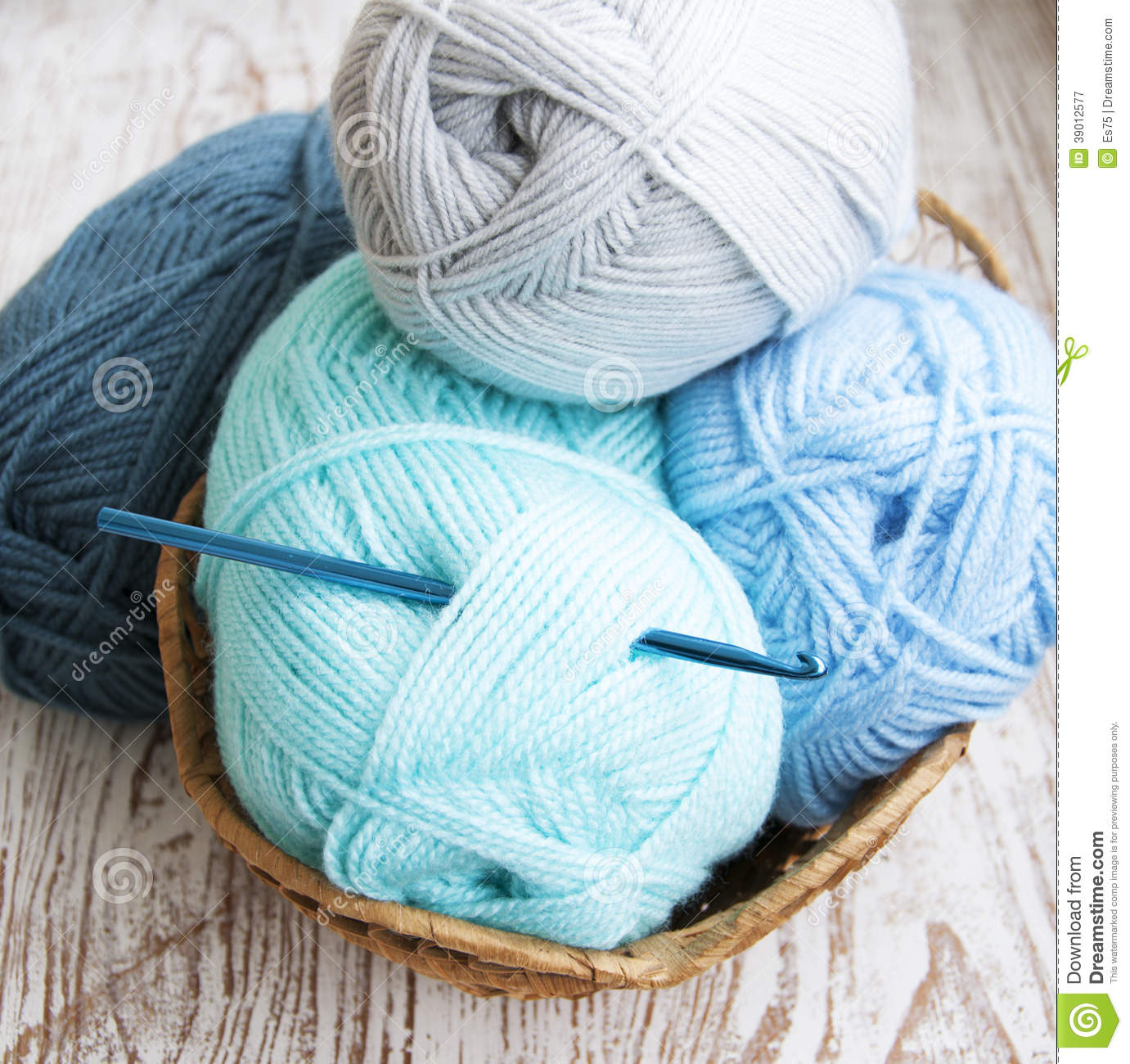 Crochet Knitting Yarn : More similar stock images of ` Crochet hook and knitting yarn `