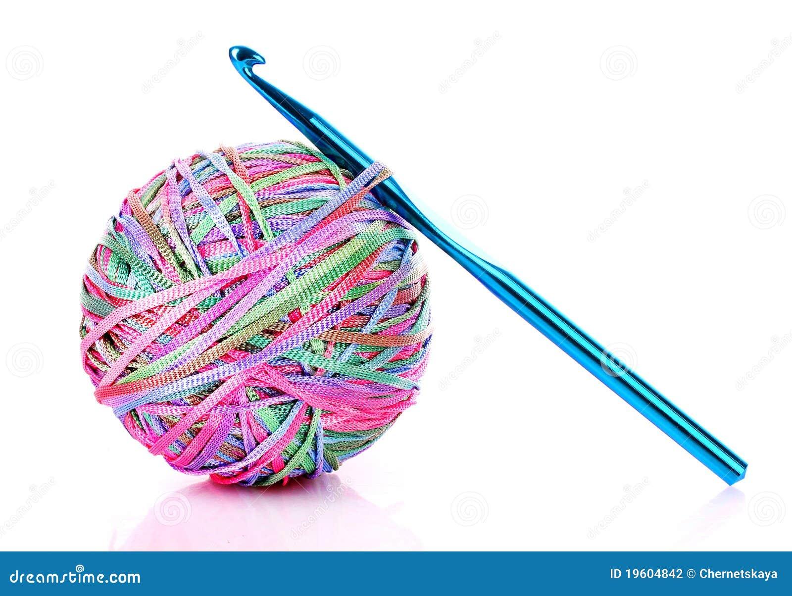 Crochet Clip Art Crochet hook and wool ball