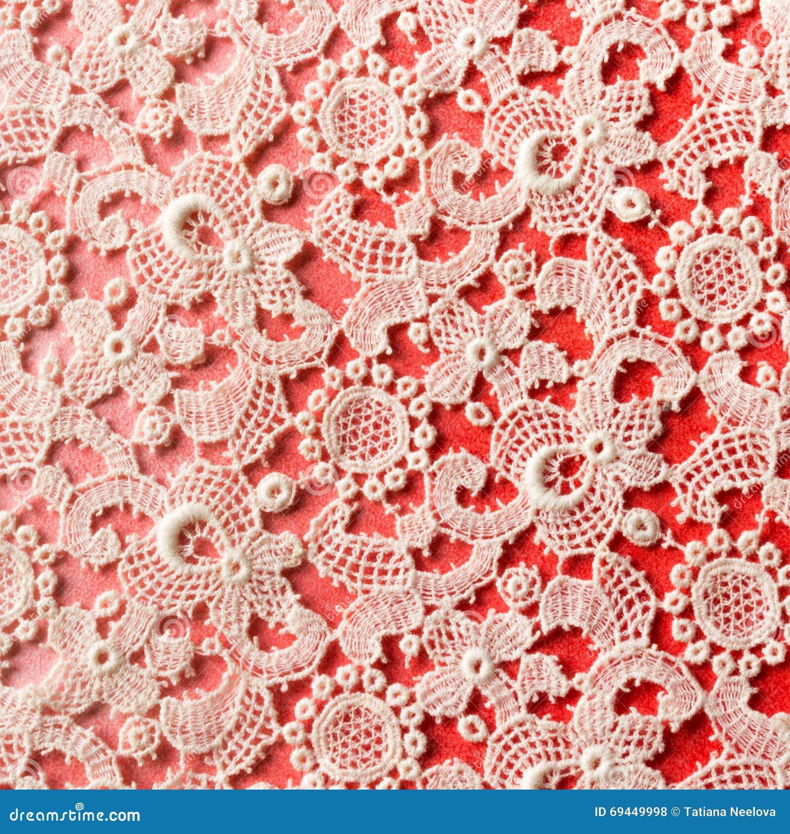 Crochet lace background