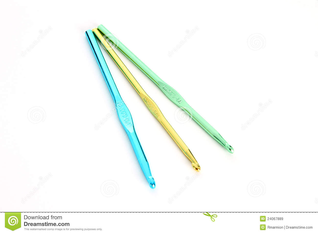 Crochet Needles Royalty Free Stock Images - Image: 24067889