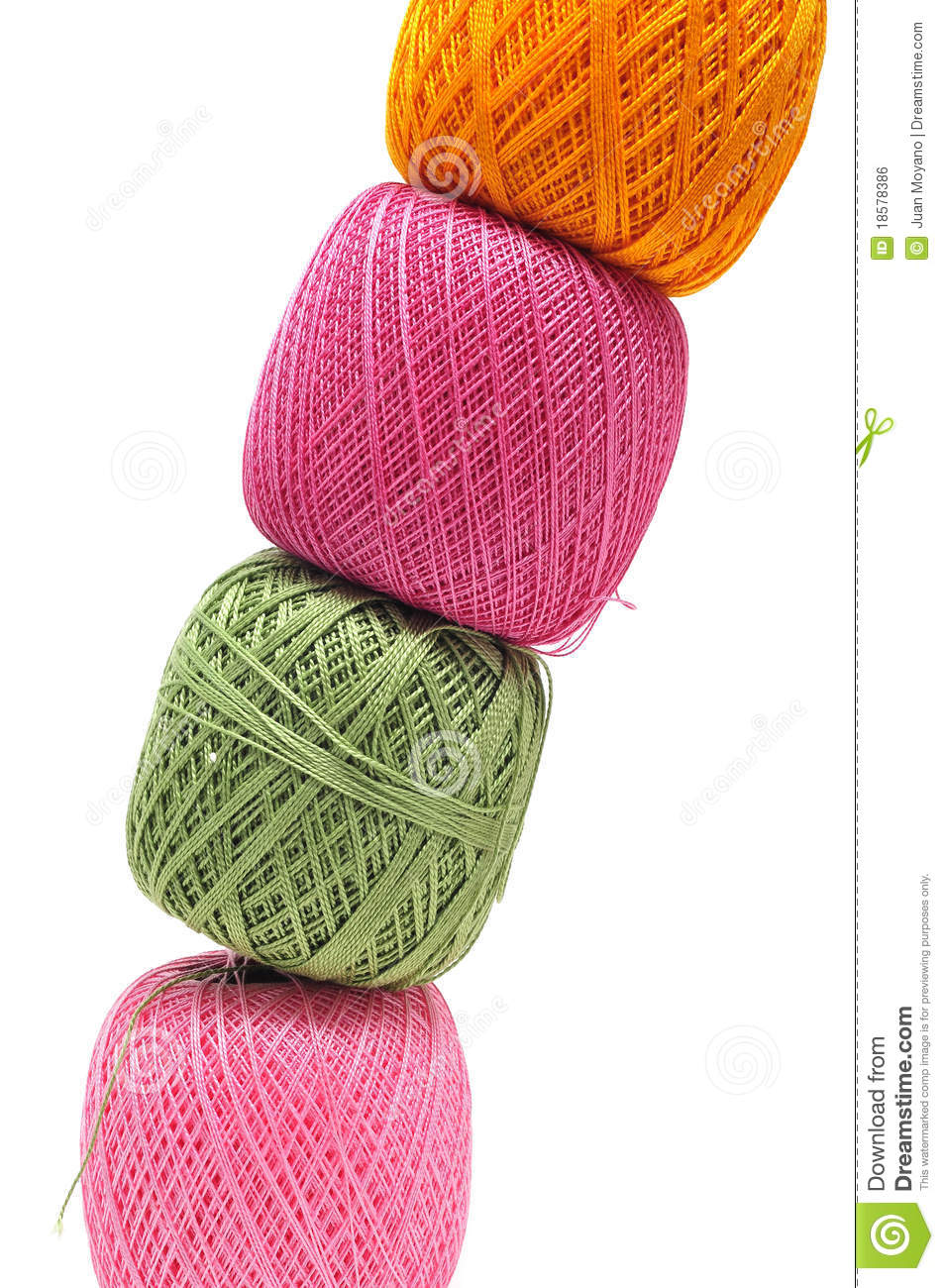 Crocheting Thread : Crochet Thread Royalty Free Stock Image - Image: 18578386