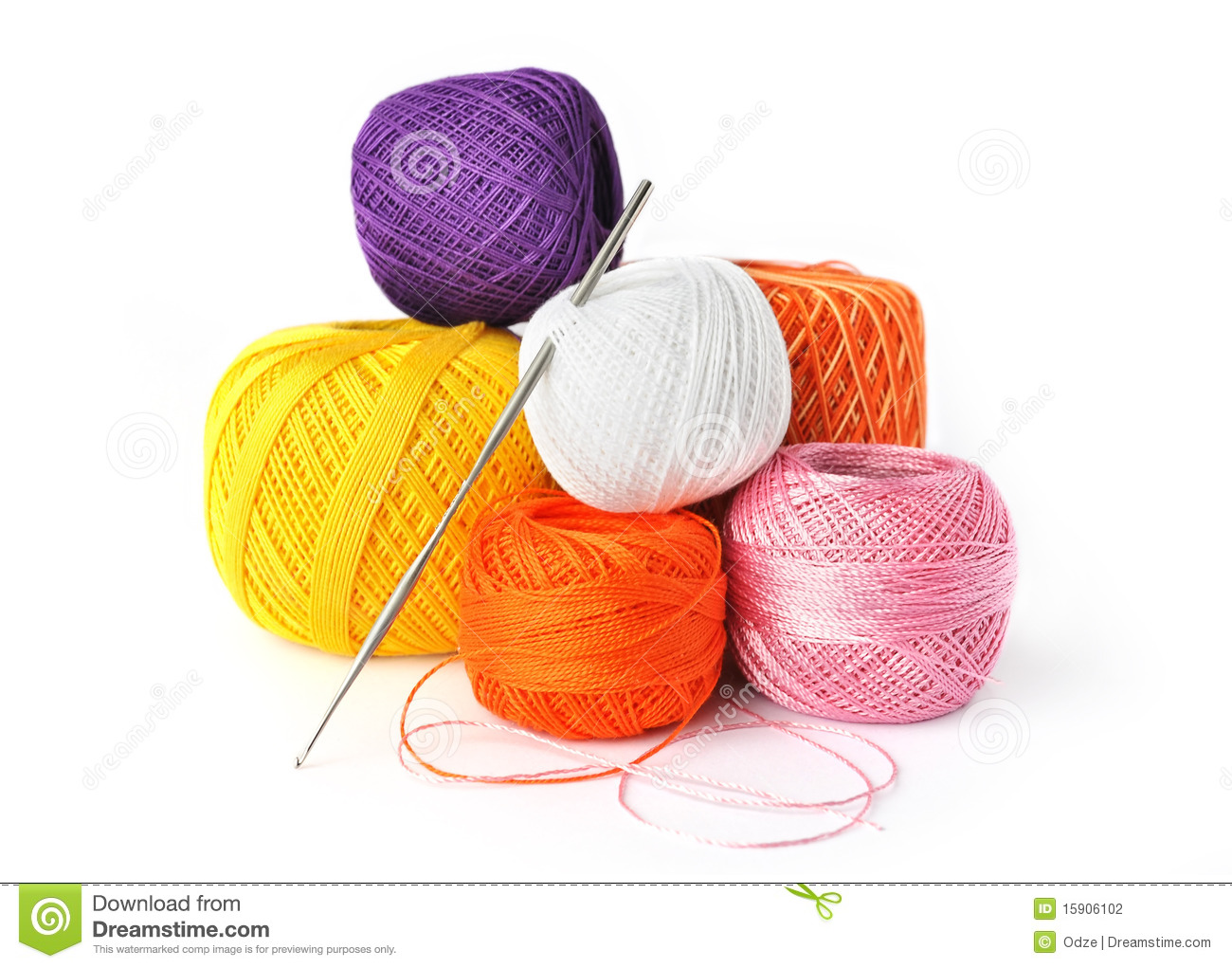 Crocheting Tools : Crochet Tools Stock Photography - Image: 15906102