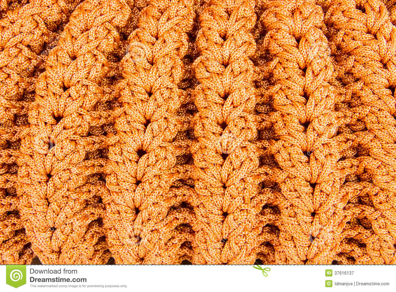 Crocheting Hand Bag Pattern Royalty Free Stock Photography - Image ...