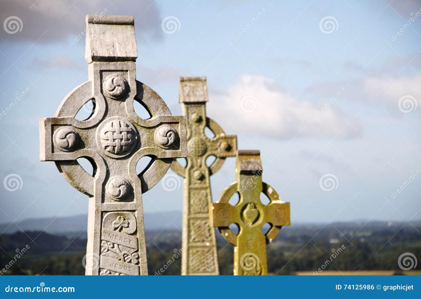 Croci celtiche a roccia di Cashel, Irlanda
