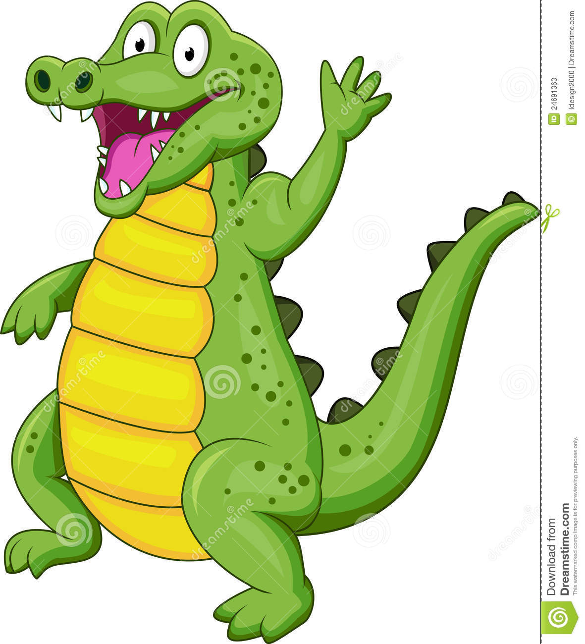 Crocodile cartoon stock vector. Illustration of comic ... - photo#4