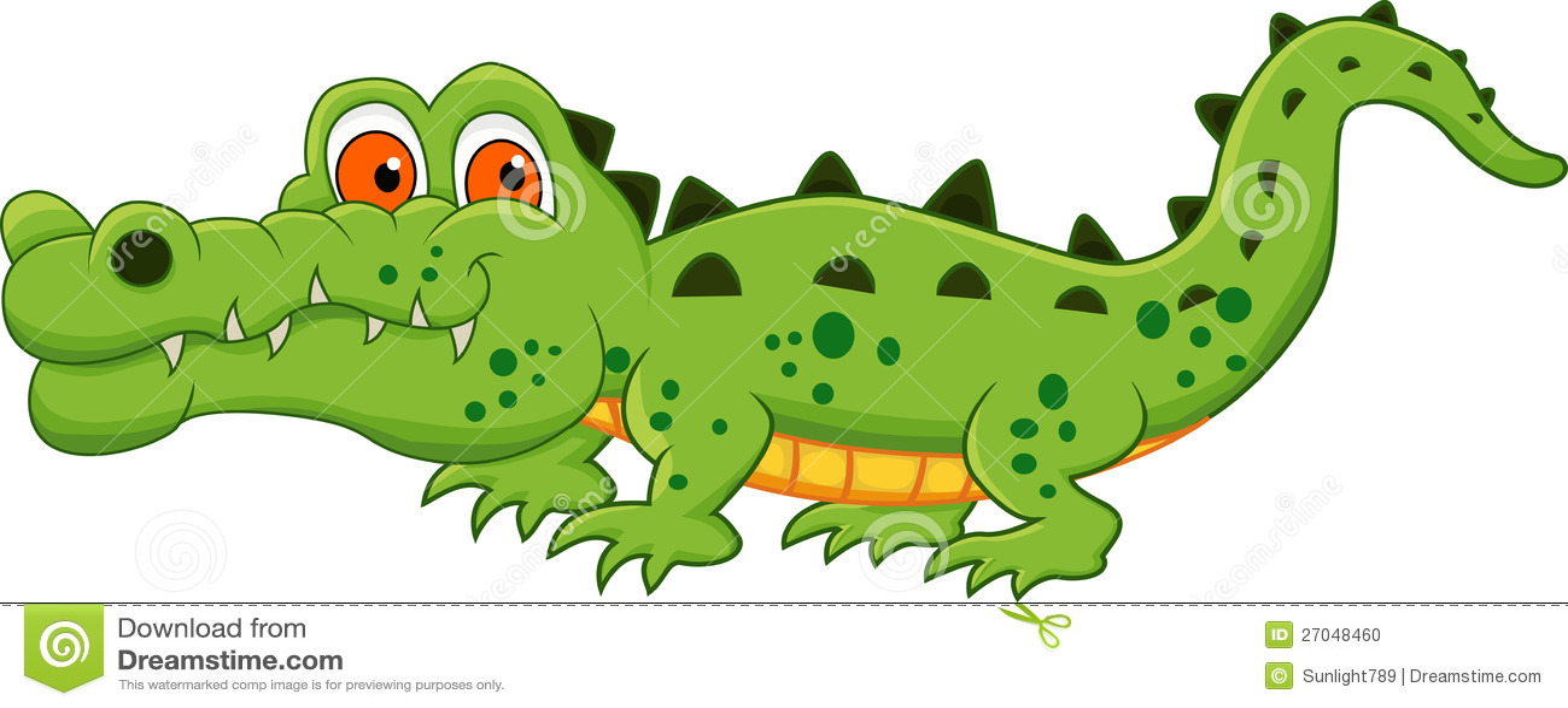 Crocodile cartoon stock photo image 27048460 - Dessin anime de crocodile ...