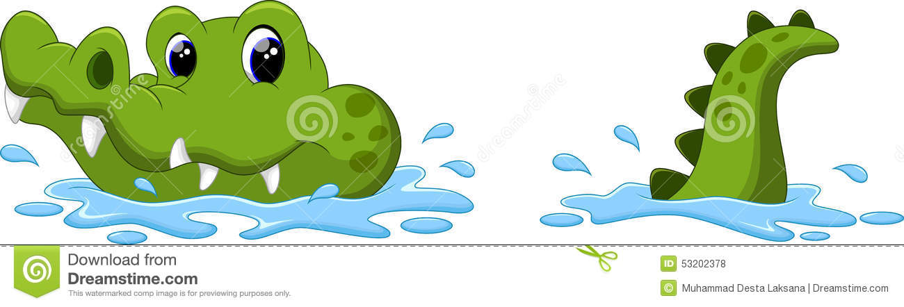 Crocodile Cartoon Stock Illustration - Image: 53202378