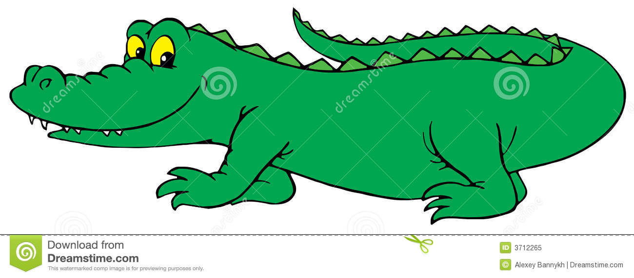 crocodile vector clip art stock vector illustration of cartoon rh dreamstime com crocodile clipart outline crocodile clip art for classroom use