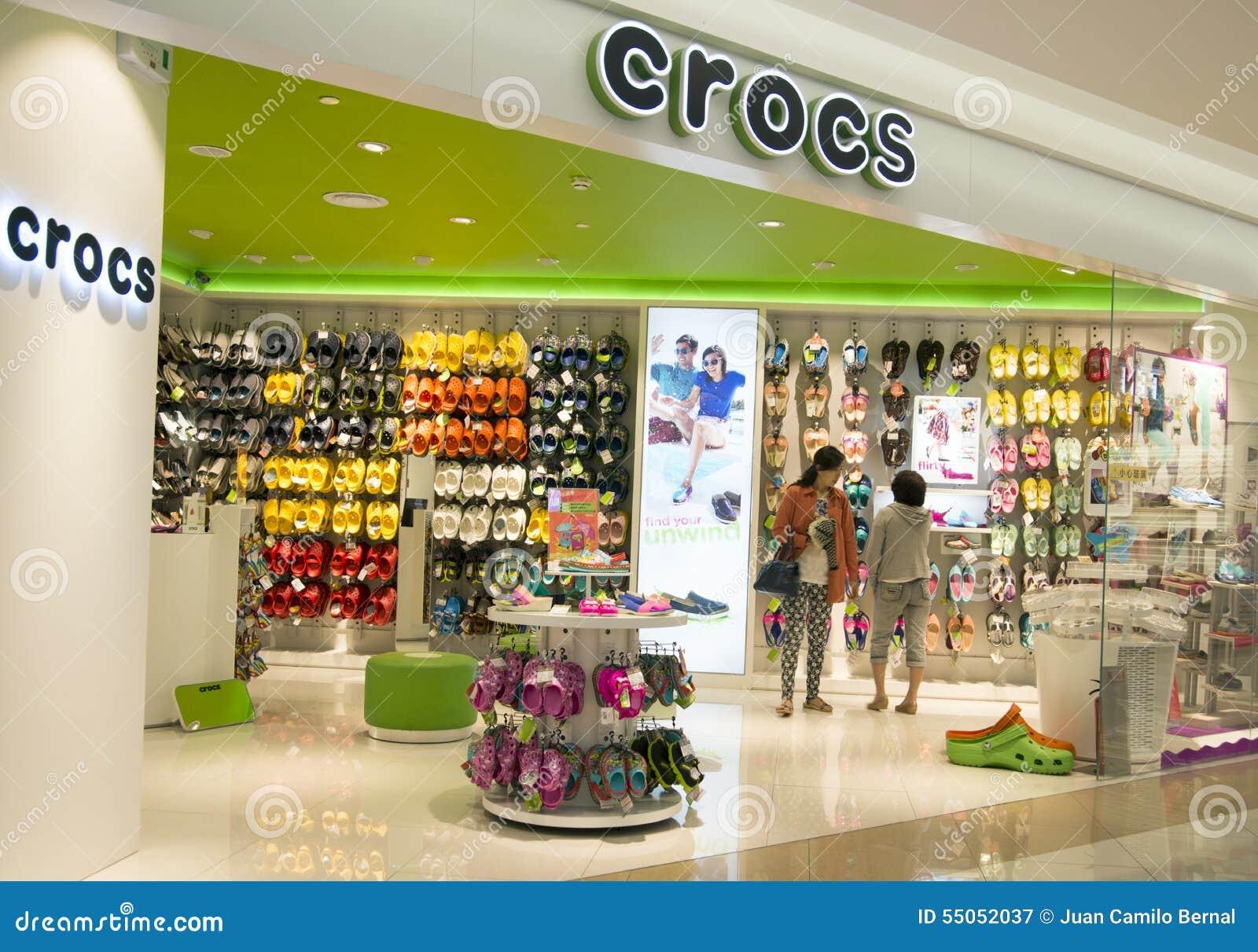 7eb61d535cb3d7 Crocs Store Inside A Shopping Mall In Hangzhou