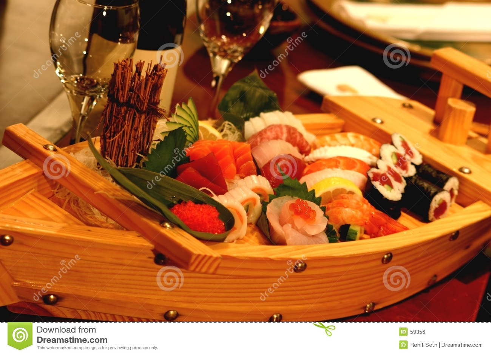 Crogiolo di sushi