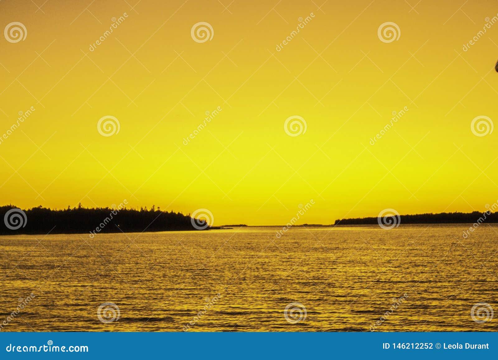Croisière de coucher du soleil dans la baie géorgienne