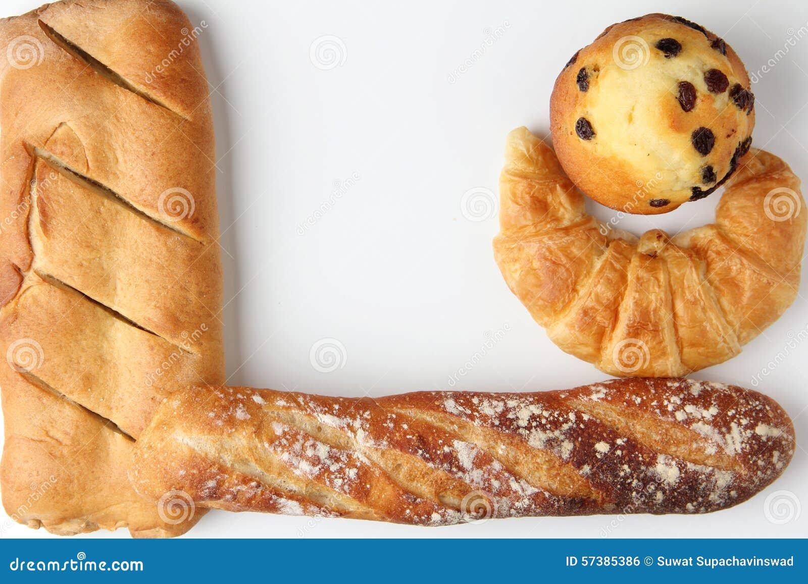 Croissantbakkerij met brademuffin