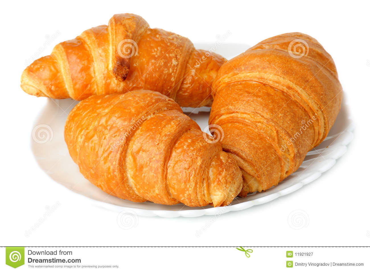 Croissants Royalty Free Stock Photography - Image: 11921927
