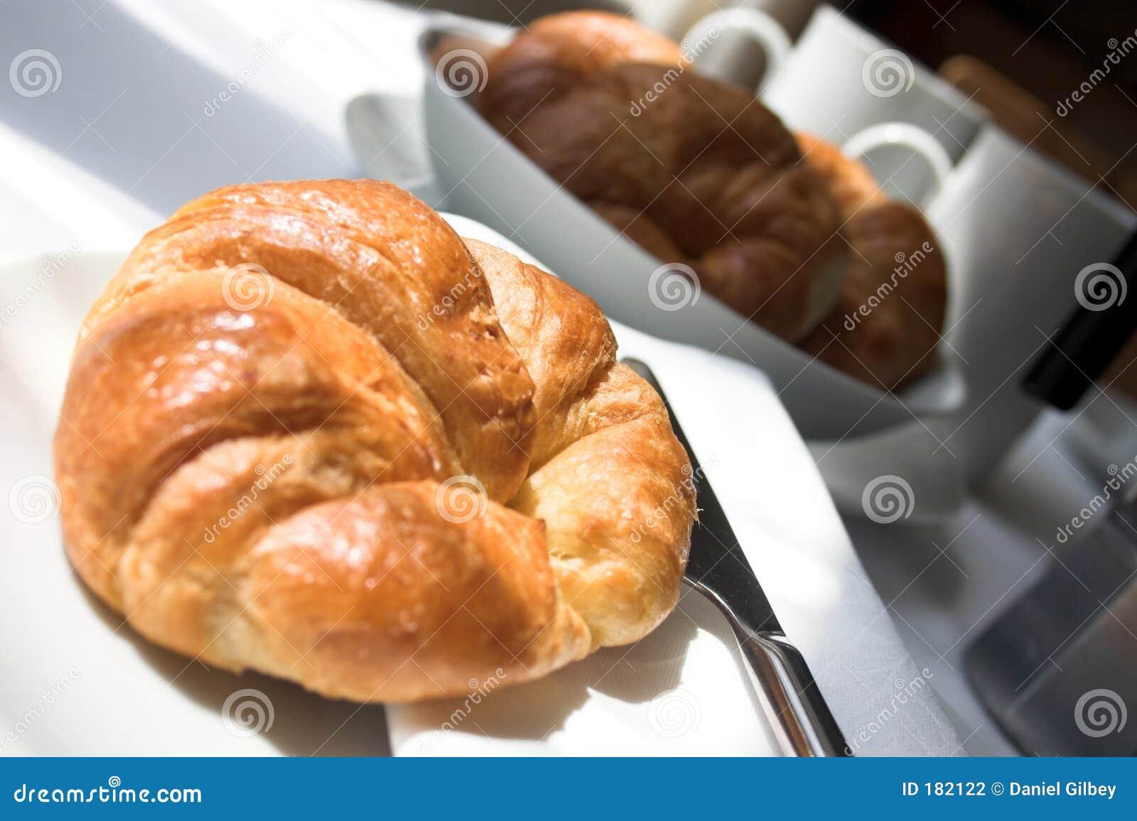 Croissants por la mañana