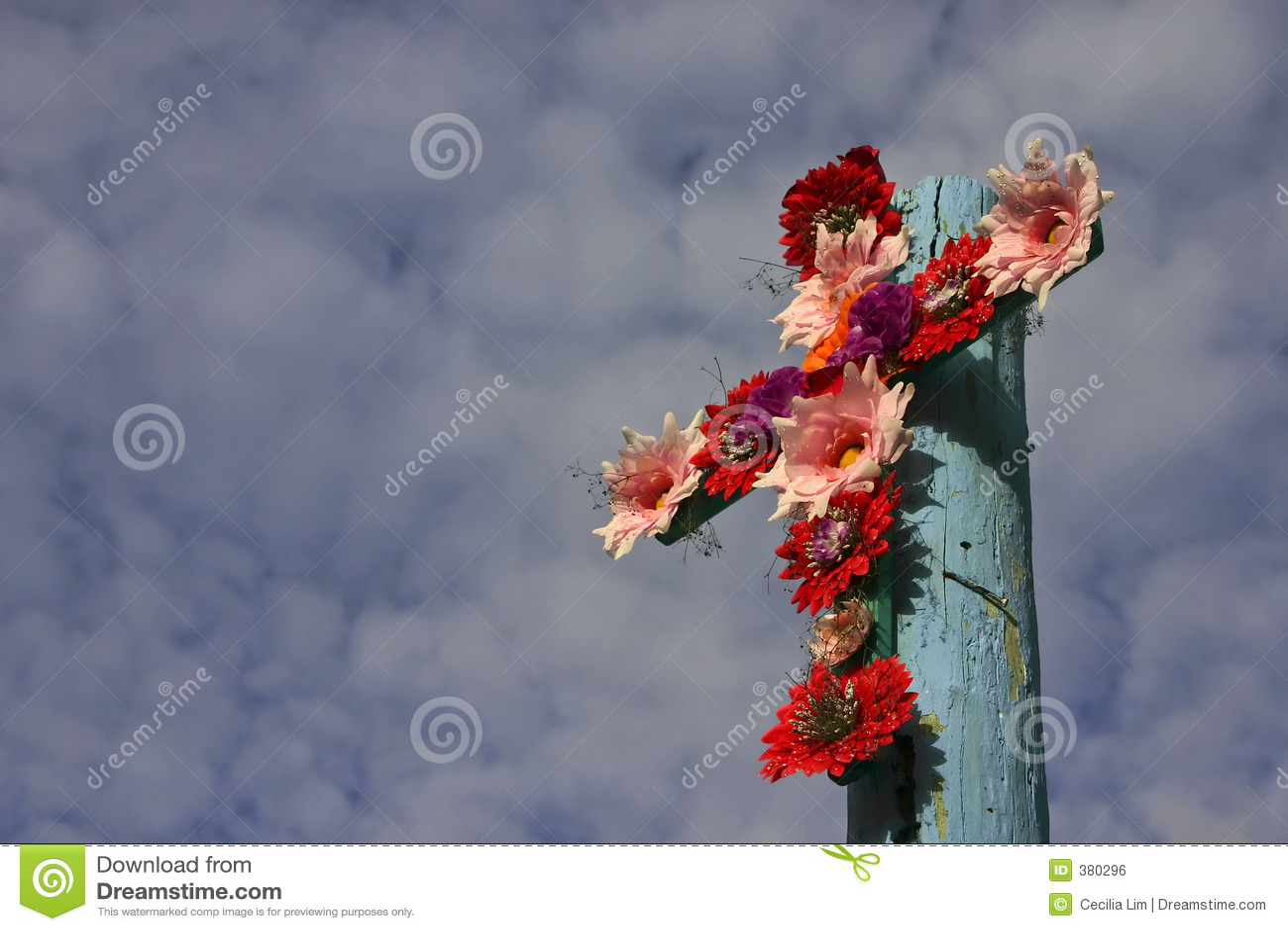 Croix des fleurs - format horizontal