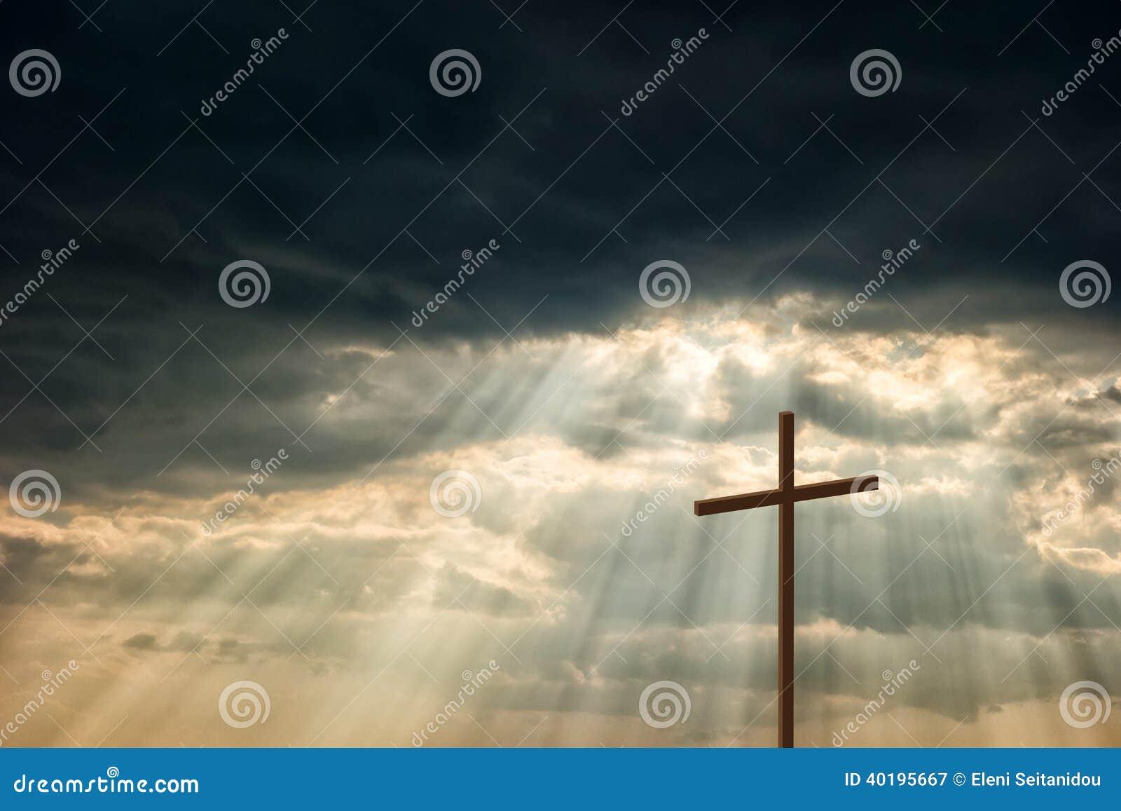 Croix en bois