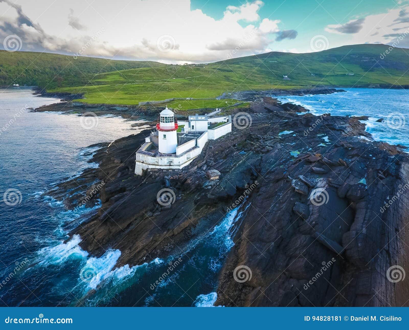 Cromwell latarnia morska Valentia wyspa Irlandia