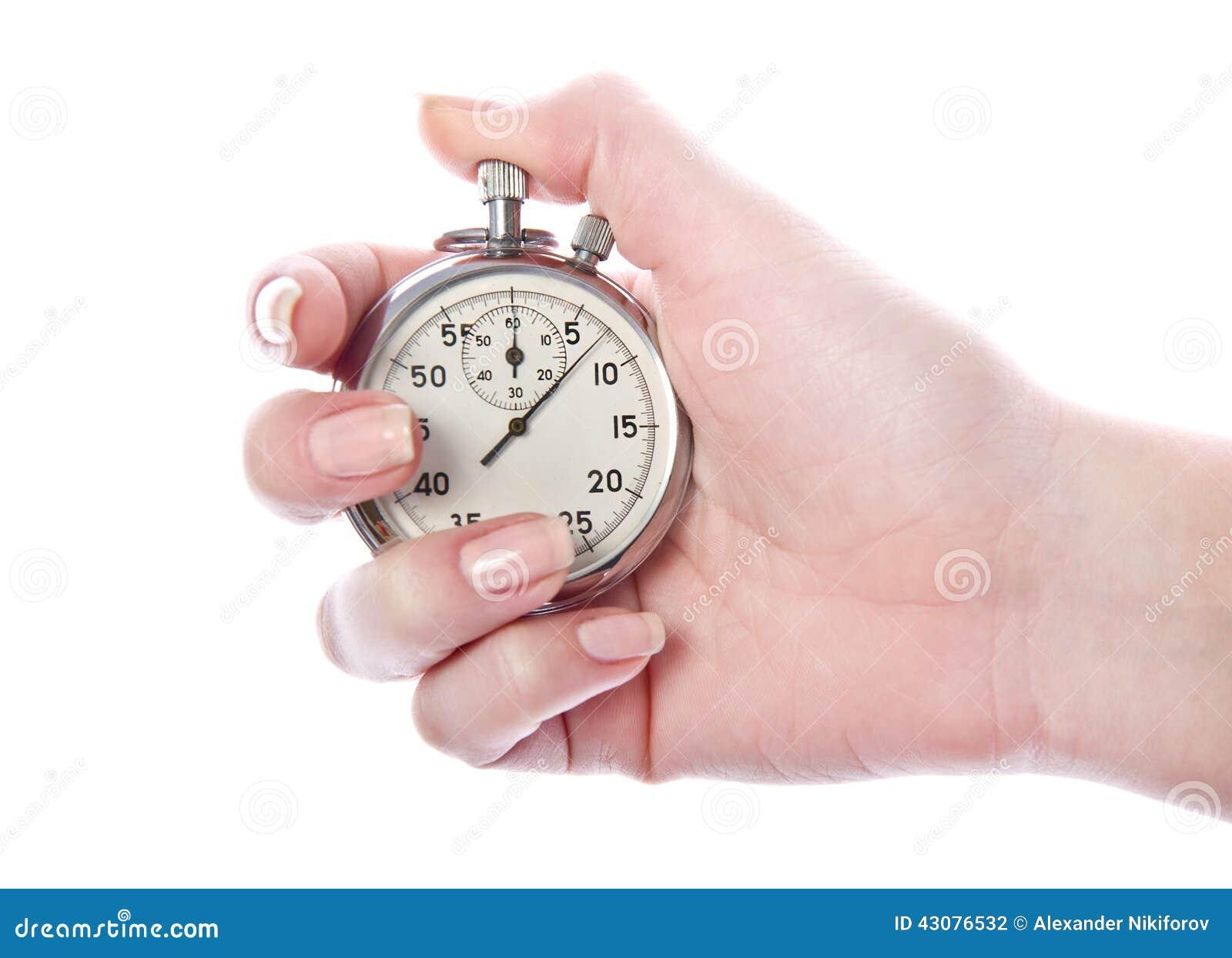 Cronómetro del contador de tiempo del deporte del vintage