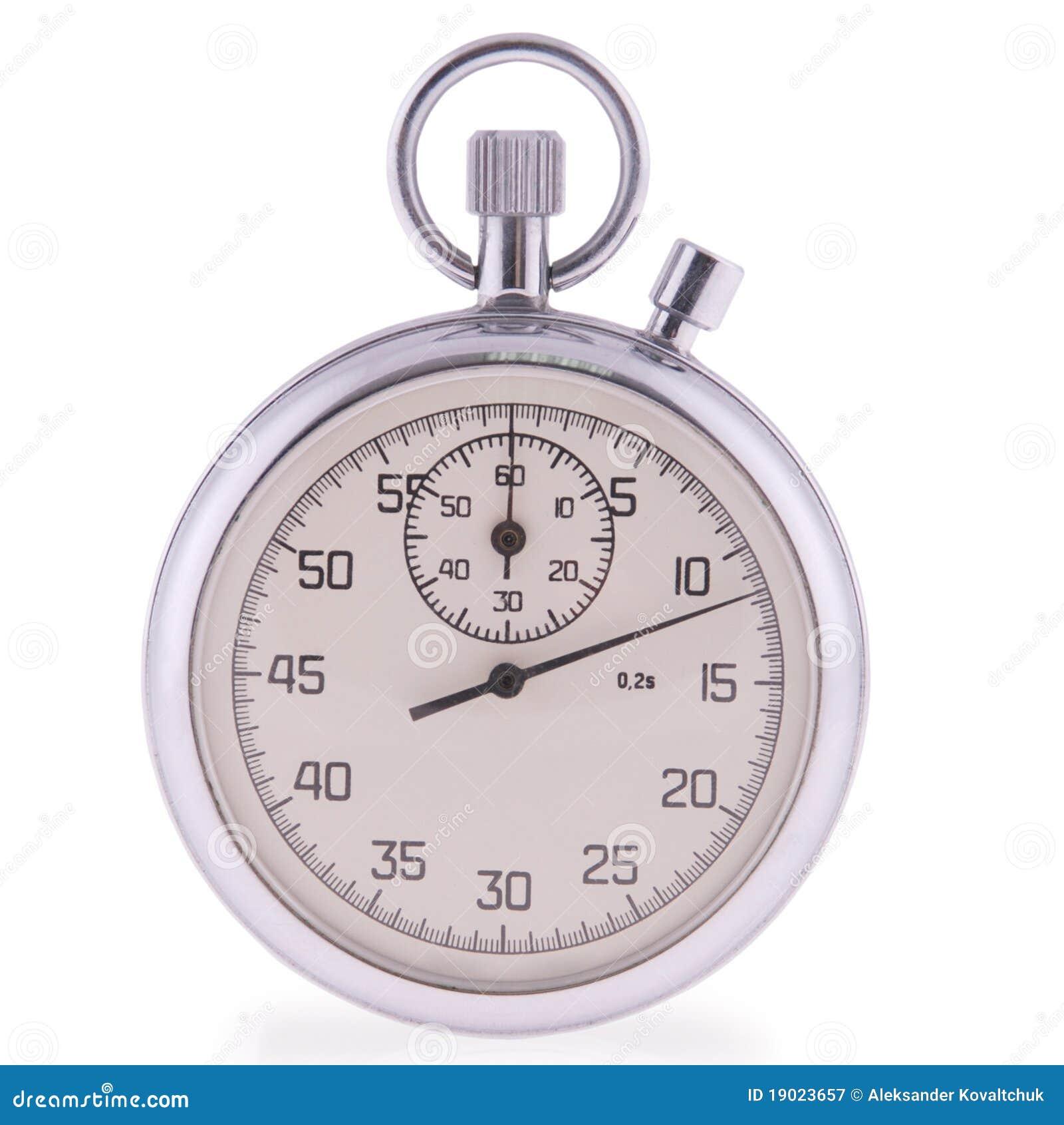 Cronômetro análogo