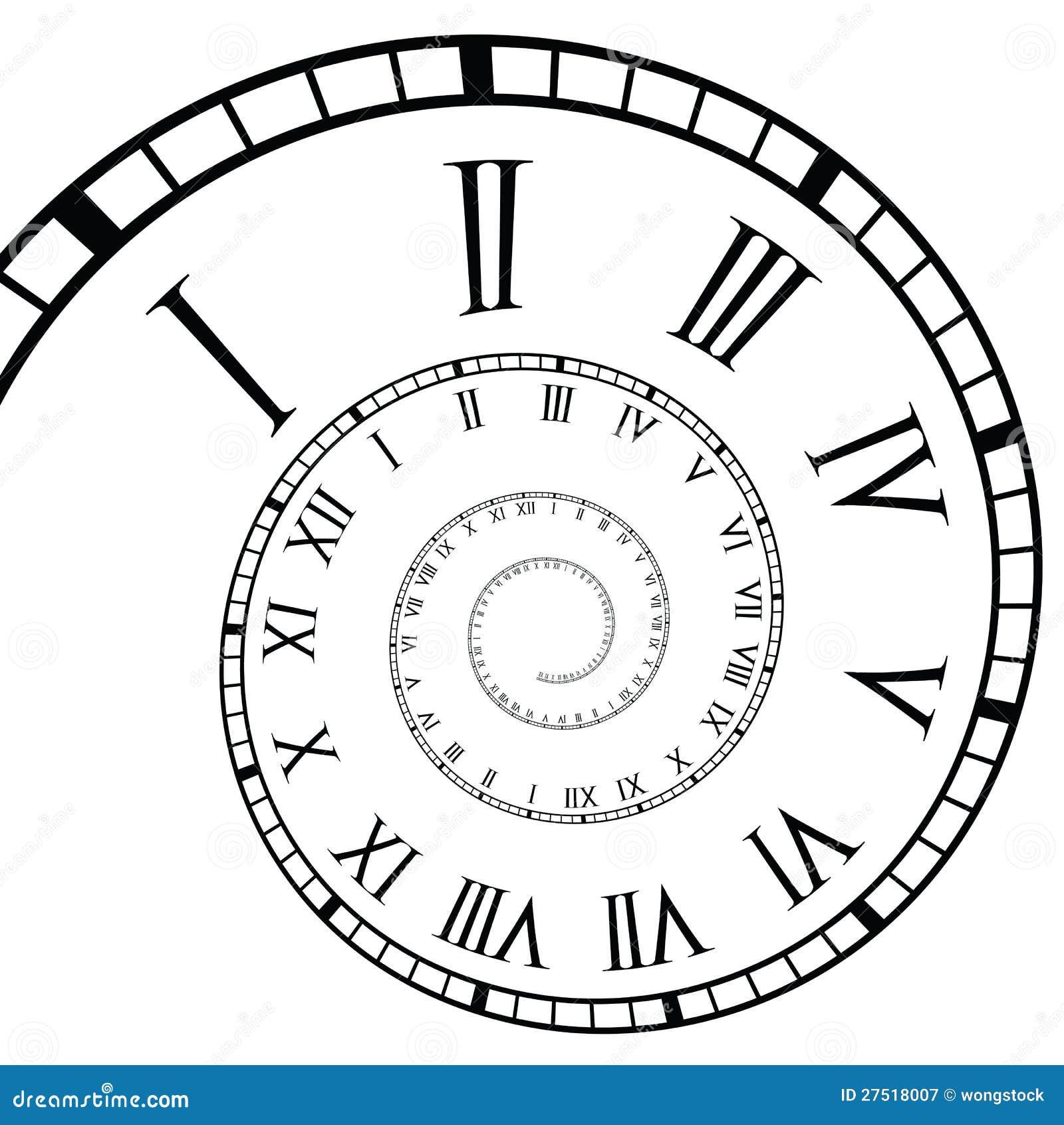 Cronologia a spirale dell 39 orologio di numero romano for Numero di deputati e senatori
