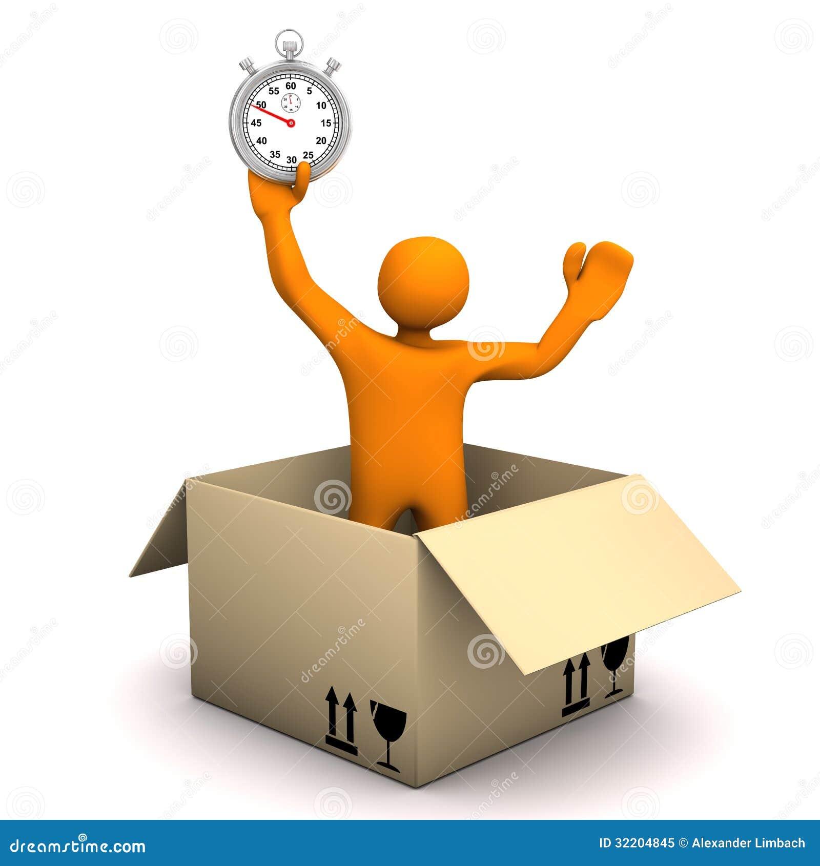 Cronometro del pacchetto del manichino
