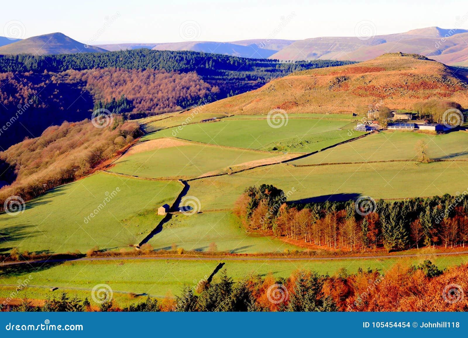 Crook Hill, Ladybower, Derbyshire, UK.