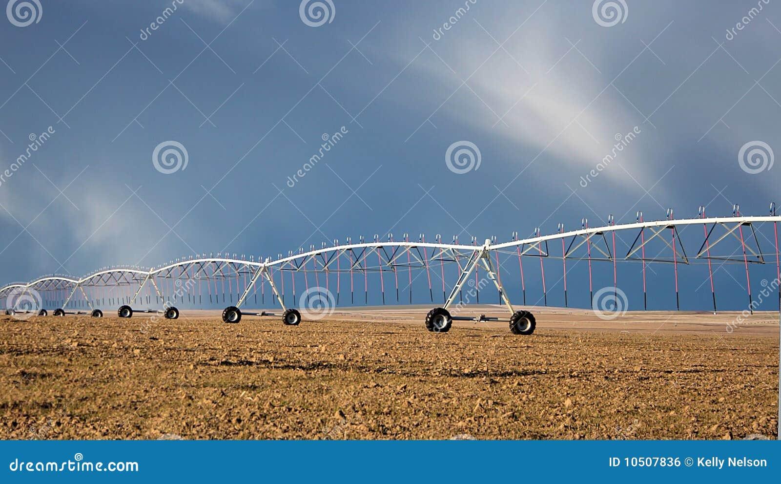 Crop Circle Irrigation Royalty Free Stock Image Image