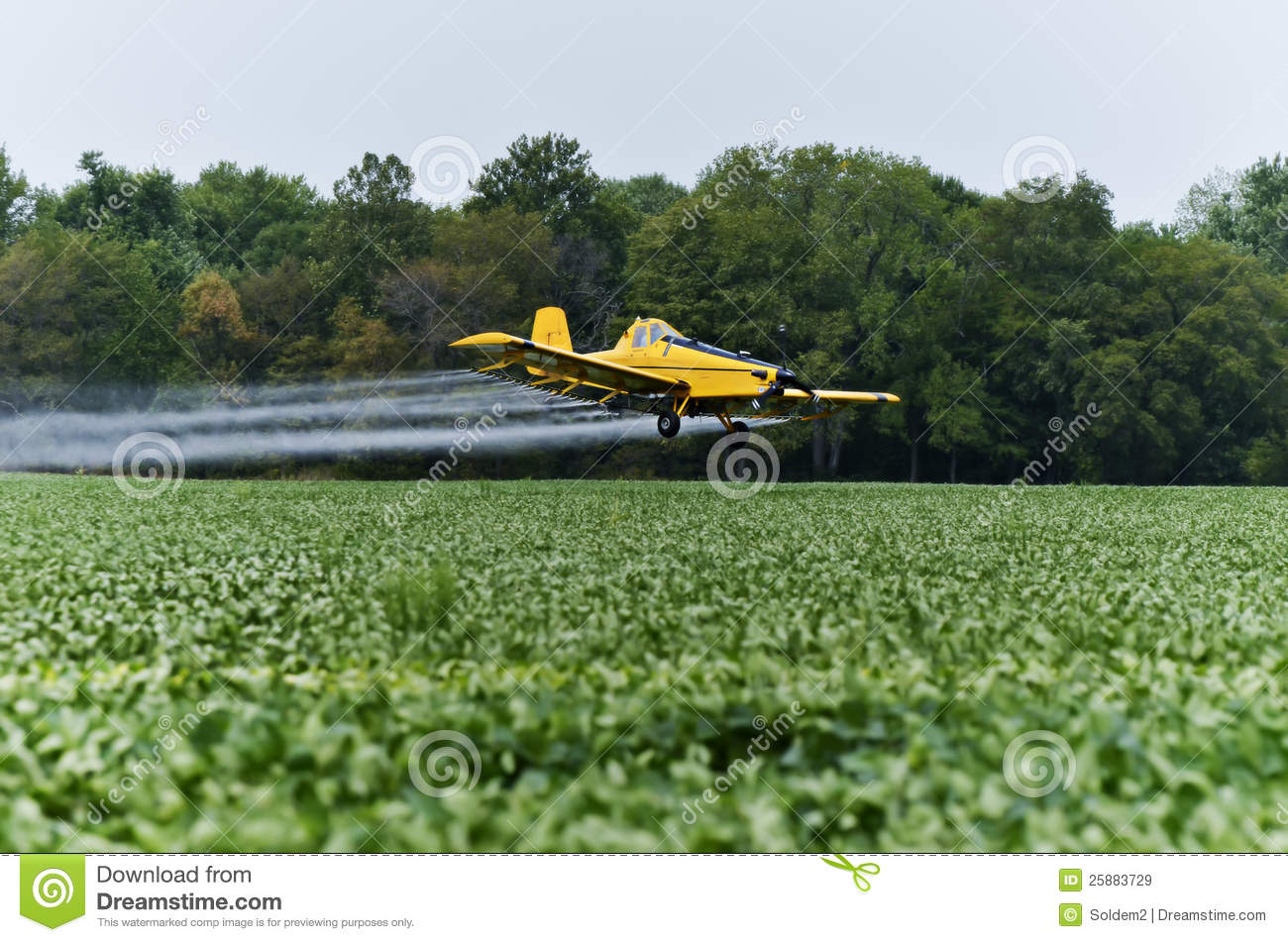 Download Crop duster stock image. Image of airplane, scene, machinery - 25883729