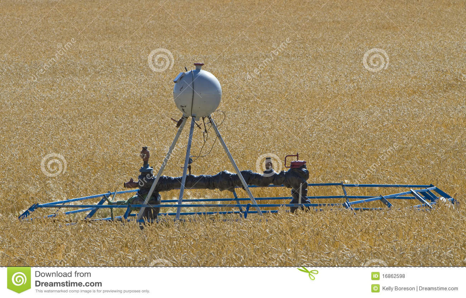 Cropland do tanque da fonte & do metanol