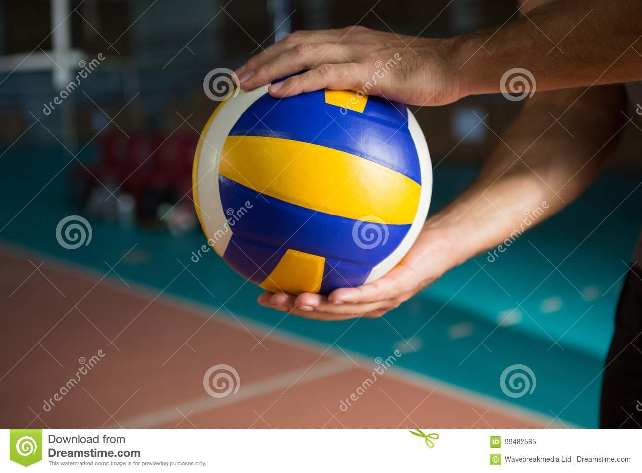 Volleyball player leg stock image. Image of floor