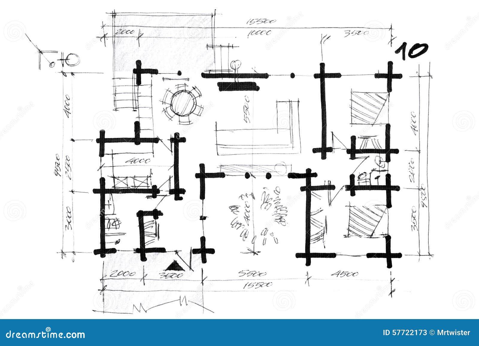 Un plan de maison tage maison abordable chambres garage for Concevoir un plan de maison
