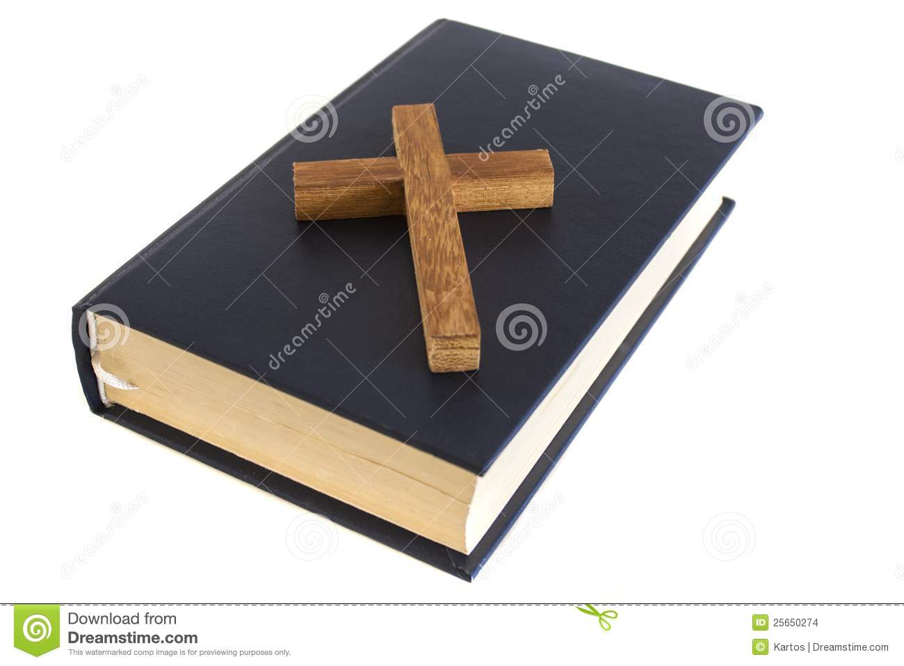Cross And Bible Stock Images - Image: 25650274