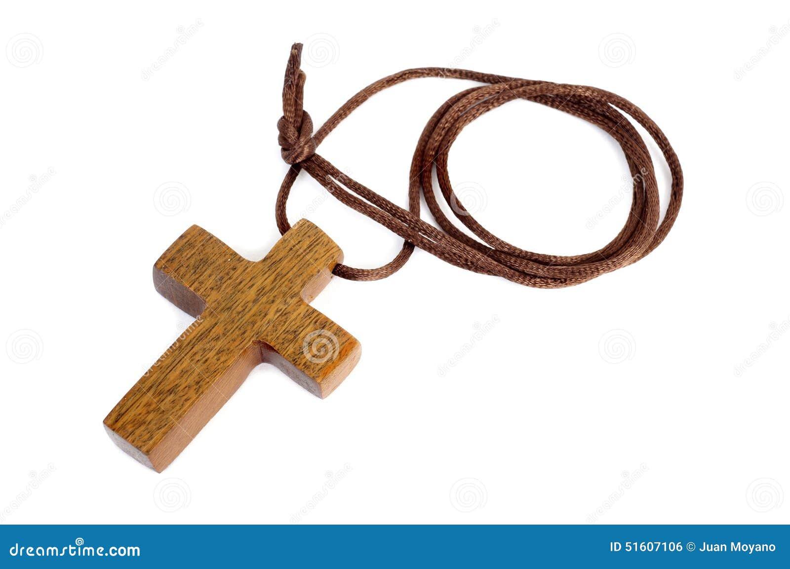 Cross christiana drewniane