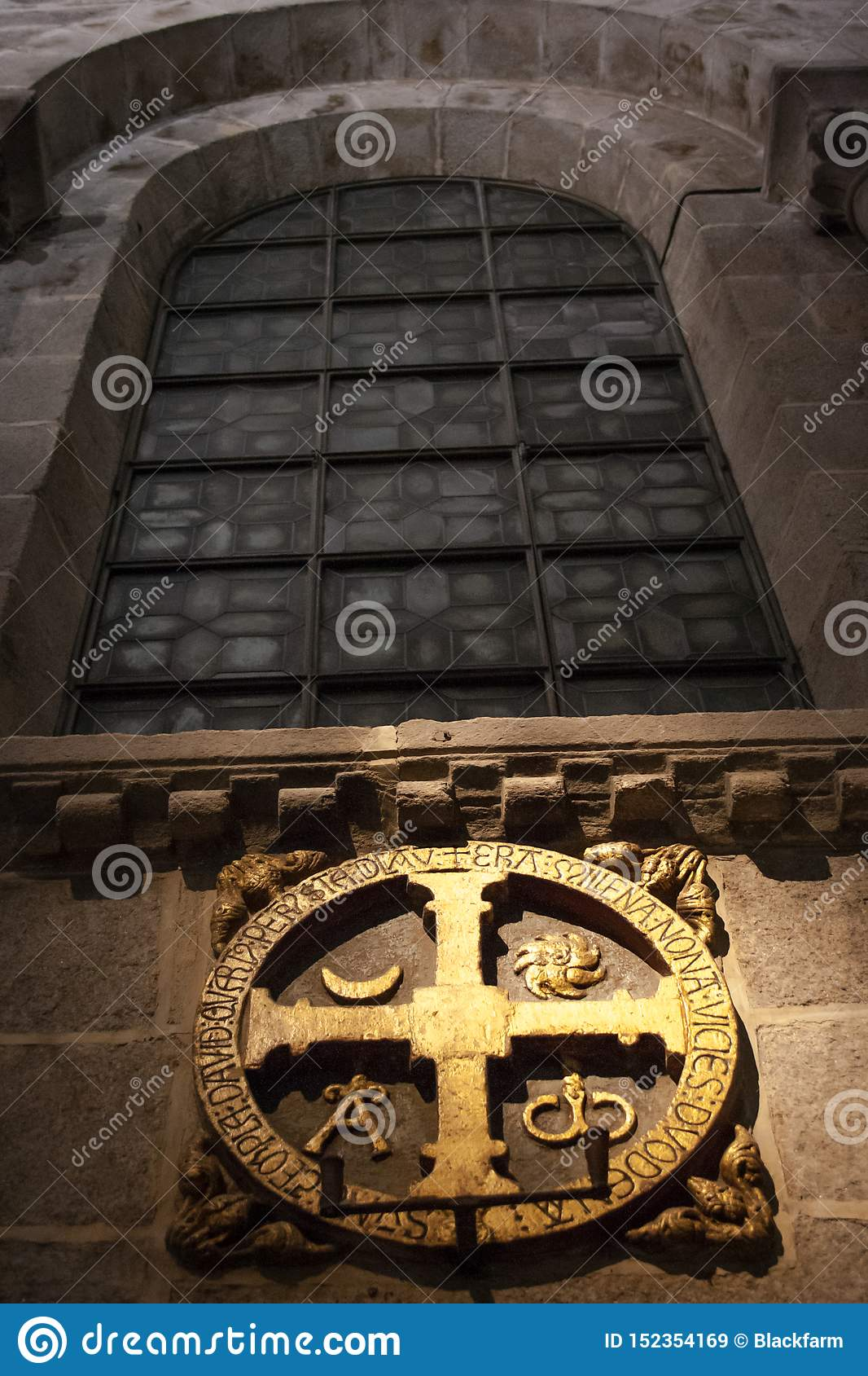 Cross consecration of the temple of the Cathedral of Santiago