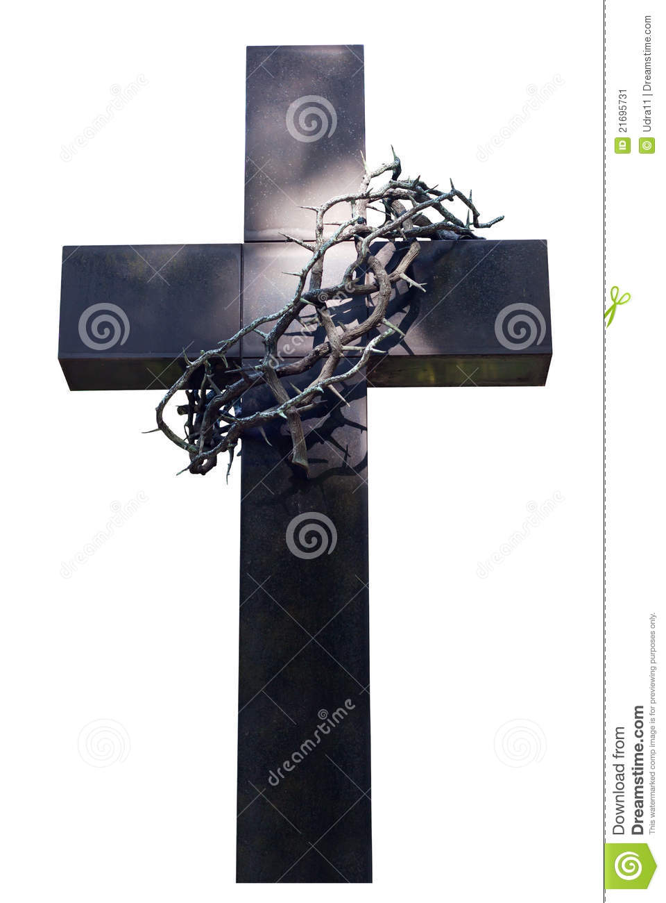 cross and crown thorns stock image image of tombstone Crown of Thorns Clip Art Crown of Thorns Design