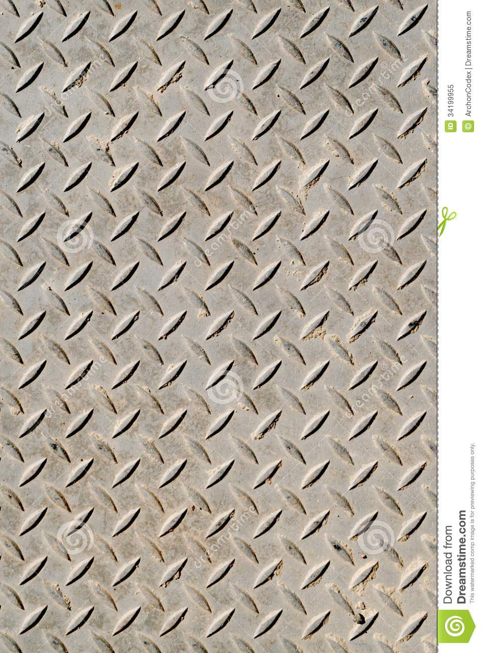 Cross Hatched Metal Plate Royalty Free Stock Photo Image