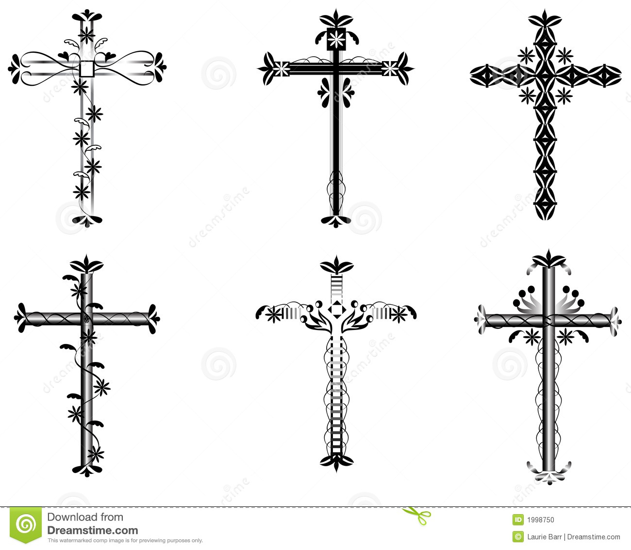 Cross Illustration Stock Photo Image 1998750