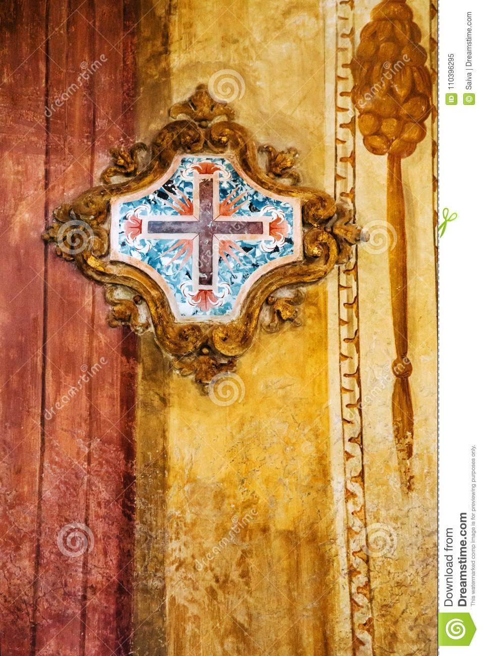 Fancy Decorative Cross For Wall Festooning - Wall Art Collections ...