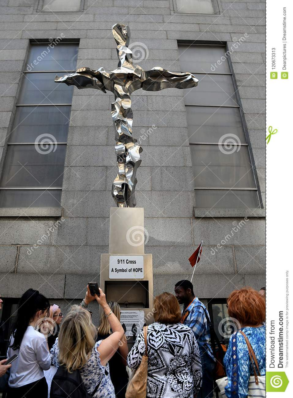 9 11 cross a symble of hope editorial stock photo image of jews