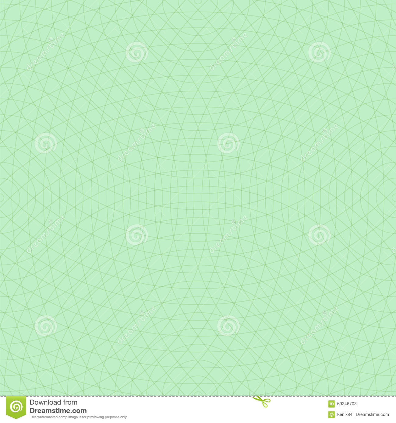 Crossed concentric circles. Seamless vector background.