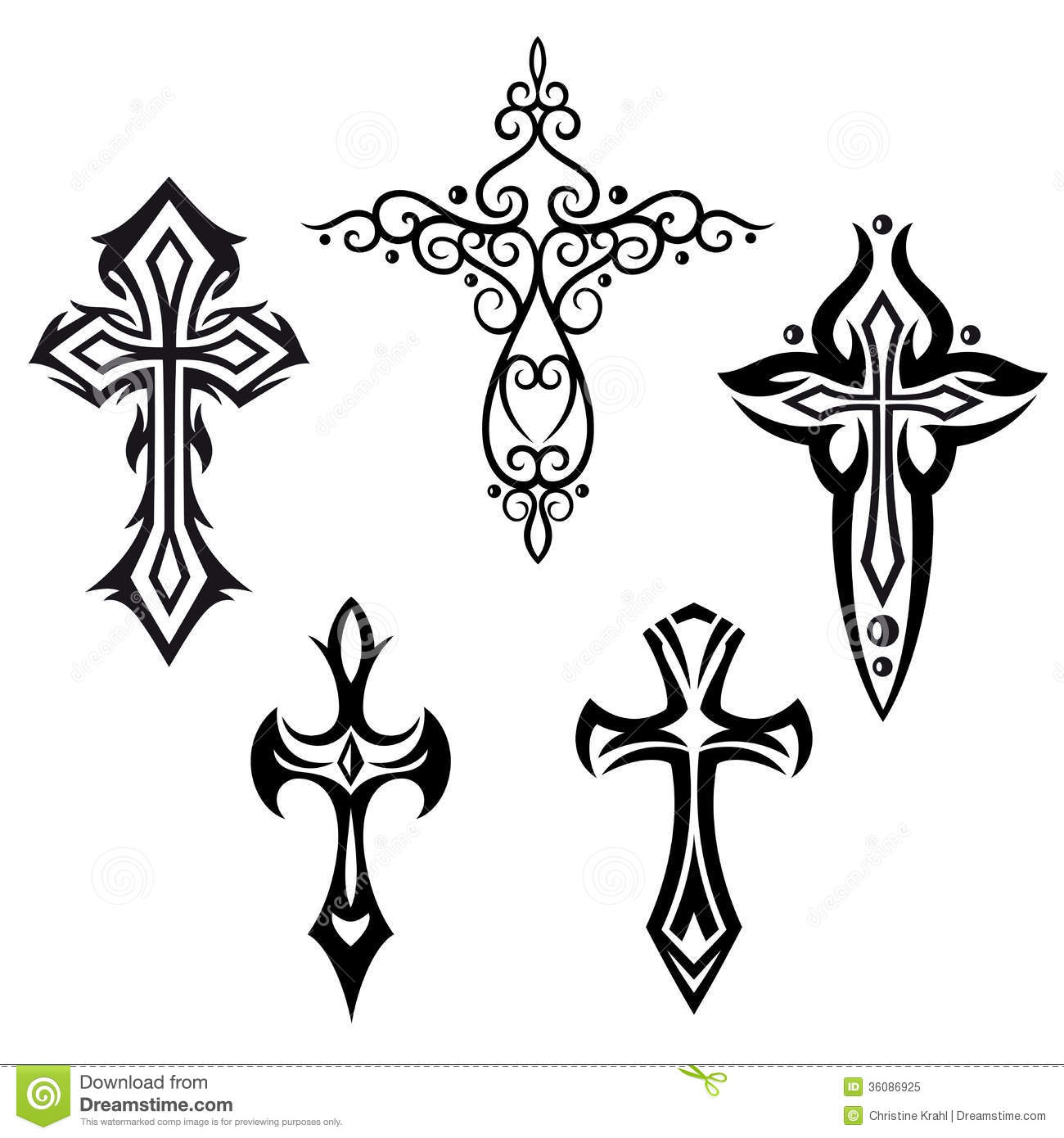 Vector set with... Free Christian Clip Art Thank You