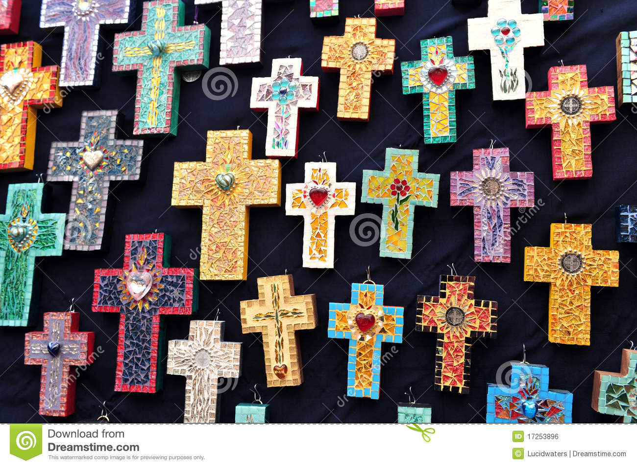 Crosses For Sale >> Crosses For Sale, Mexico Royalty Free Stock Image - Image ...