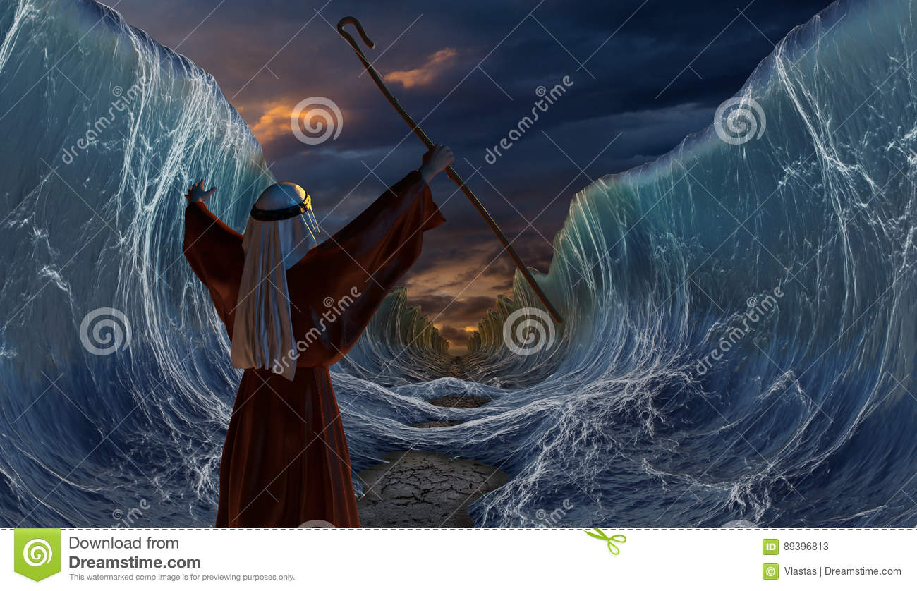 exodus moses and the red sea 21then moses stretched out his hand over the sea  the parting of the red sea  is a famous set piece in exodus and the highlight of cecil b.