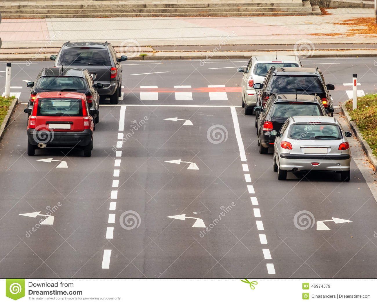 Crossing a street