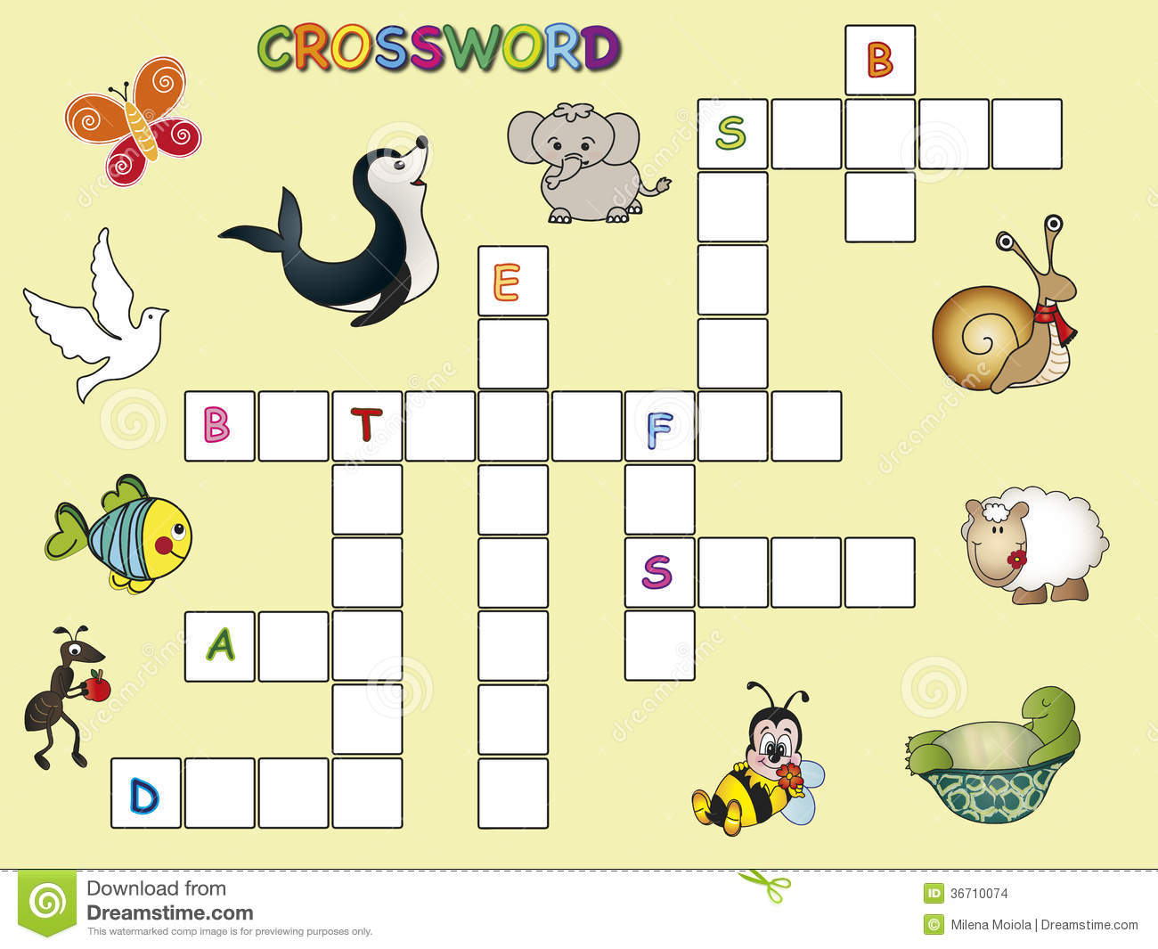 Crossword Stock Images - Image: 36710074