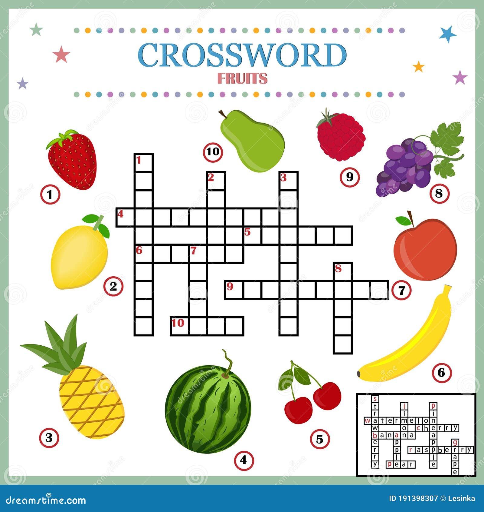 Fruit Crossword Stock Illustrations 214 Fruit Crossword Stock Illustrations Vectors Clipart Dreamstime