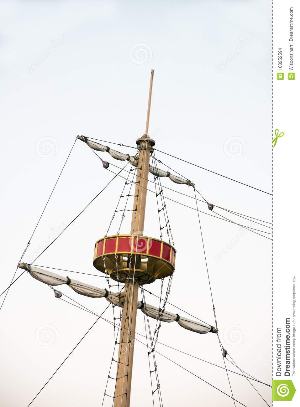Crow, Crows Nest, Pirate Ship