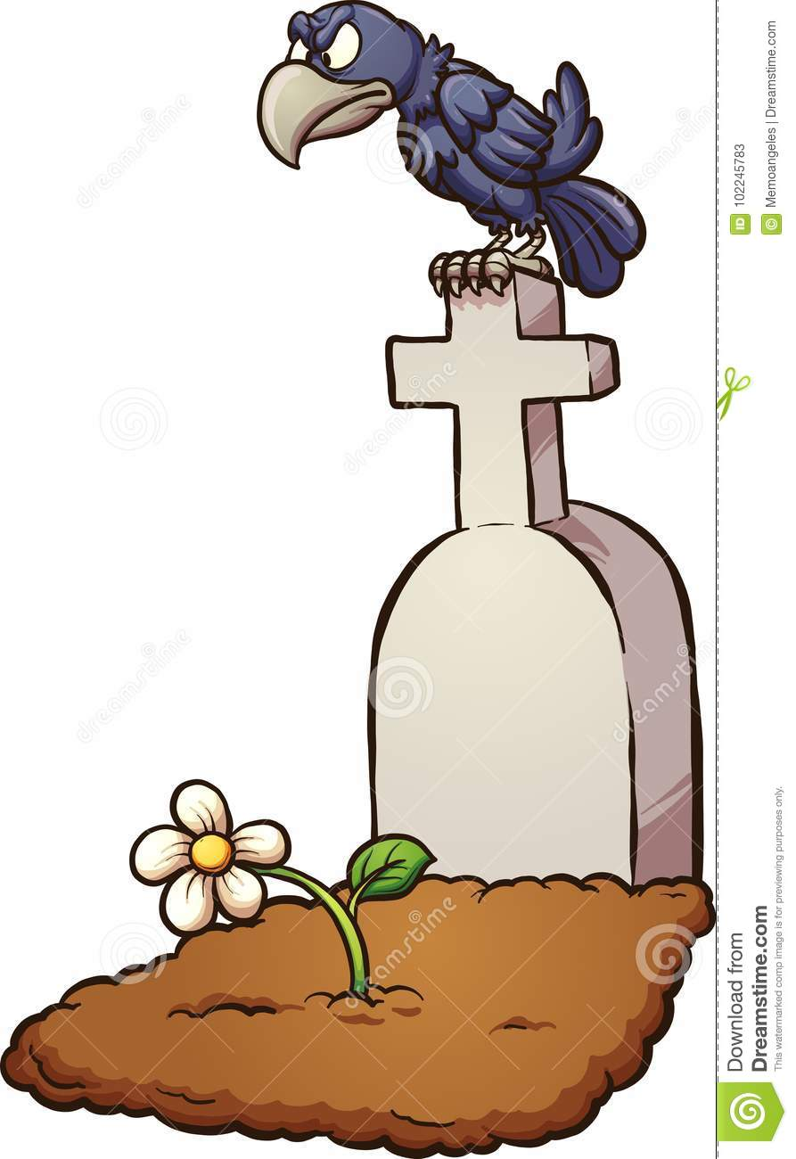 crow tombstone stock vector illustration of tombstone 102245783 rh dreamstime com tombstone vector free download tombstone shape vector