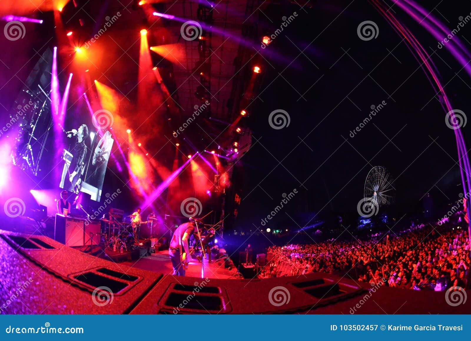 Concert in mexican city of Monterrey