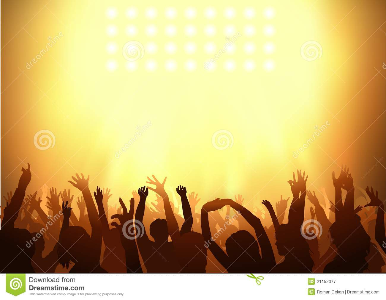 crowd dancing on a party royalty free stock photography